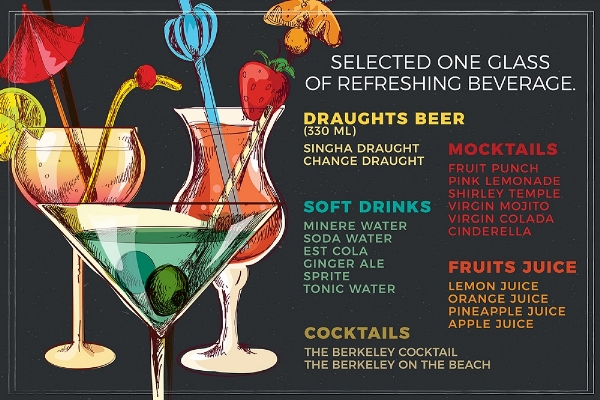 Free Drinks @The Lobby Lounge for 4 persons