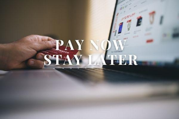 Pay Now Stay Later Breakfast included