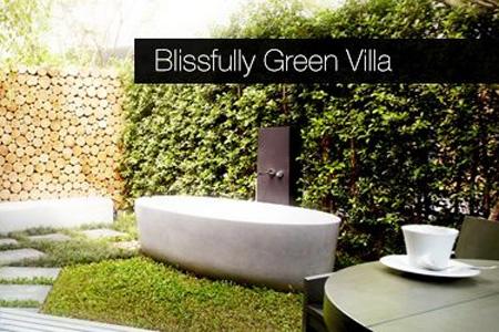 Blissfully Green Villa