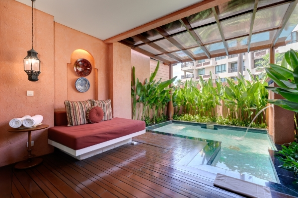 FOUNTAIN POOL SUITE - With Plunge Pool