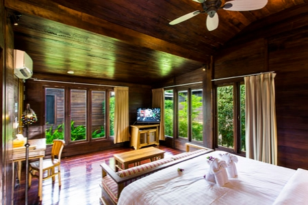 Lanai Deluxe King Room