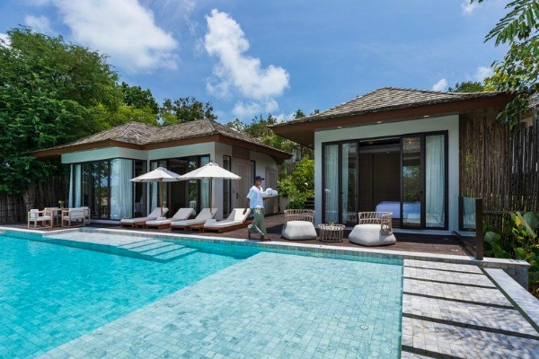 Tropical Two-bedroom Pool Villa
