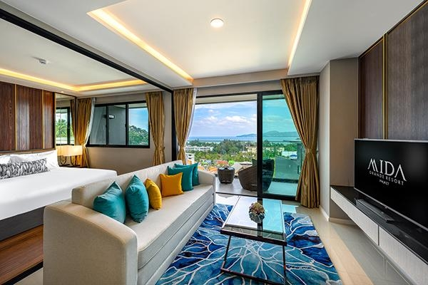 Grande 3 Bedroom Suite Ocean View With Jacuzzi