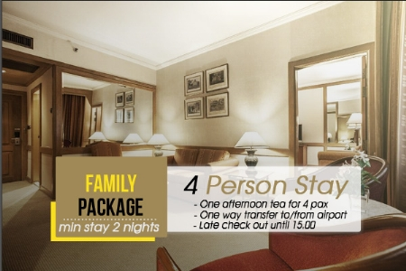 Family Package Arnoma Grand Hotel