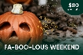 Fa-BOO-lous Weekend