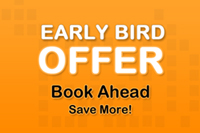 Early Bird Offer - Room with Breakfast (55% discount)