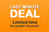 Last Minute Offer with Breakfast (15% discount)