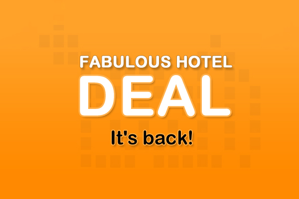 Flexible Deal - Room Only