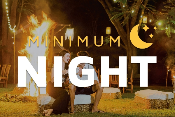 Minimum 3 nights