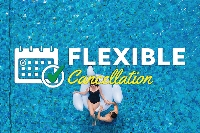 Flexible Cancellation (48% discount)