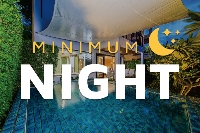 Minimum 3 nights (55% discount)