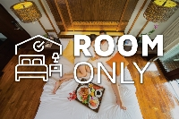 ROOM ONLY (50% discount)