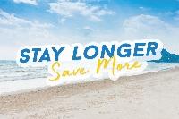 Stay Longer Save More (ยิ่งอยู่ ยิ่งคุ้ม) (10% discount)