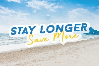 Stay Longer Save More (ยิ่งอยู่ ยิ่งคุ้ม) (15% discount)