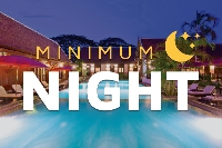 Minimum 3 nights (57% discount)