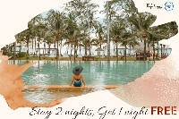 Stay 2 nights, Get 1 Night FREE     พัก 2 คืน ฟรี 1 คืน (Free night included)
