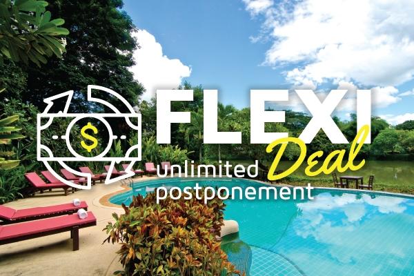 Flexi Deal (เลื่อนวันเข้าพักฟรีไม่จำกัด)