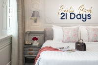 Early Bird 21 Days - Save 25% - Room With Breakfast (25% discount)