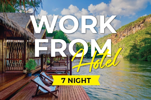 Work from hotel - 7 nights
