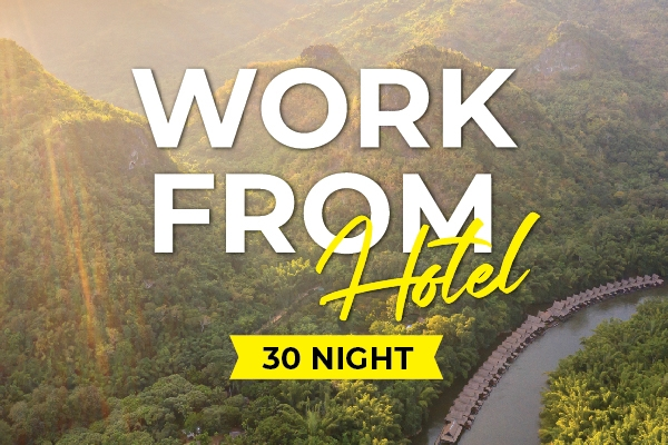 Work from hotel - 30 nights