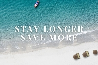 Stay Longer and Save More - Room only (55% discount)